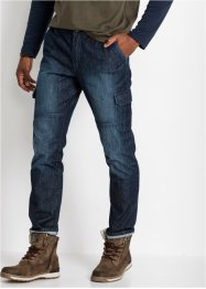 Cargo-jeans, Regular Fit Straight, John Baner JEANSWEAR