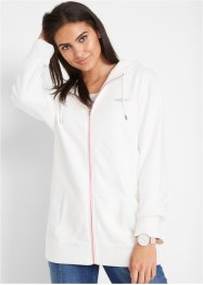 Sweatjakke med hette, bpc bonprix collection