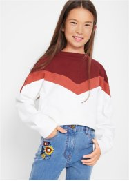 Kort sweatshirt, bpc bonprix collection