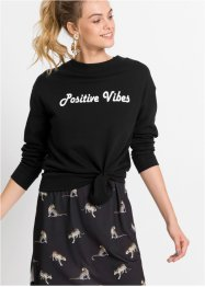 "Sweatshirt ""Positive vibes"", RAINBOW"