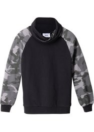 Sweatshirt med moteriktig krage, bpc bonprix collection
