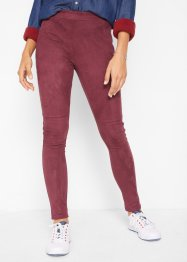 Leggings i velour-look, John Baner JEANSWEAR