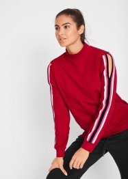 Sweatshirt med cut-outs, lang arm, Maite Kelly, bpc bonprix collection