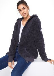 Jakke i teddyfleece, lang arm, bpc bonprix collection