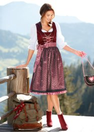 Dirndl med hjerter, bpc bonprix collection