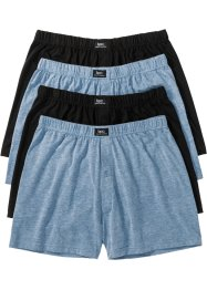 Boxershorts i jersey, ledig passform (4-pack), bpc bonprix collection