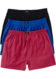 Ledig boxershorts i jersey (3-pack), bpc bonprix collection