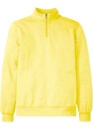 Sweatshirt med troyerkrage, bpc bonprix collection