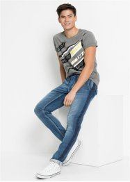 Regular Fit Sweatjeans, Tapered, RAINBOW