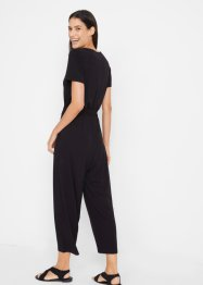 Jumpsuit med stikklommer, kort arm, bpc bonprix collection