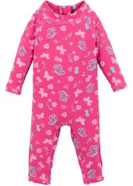 Baby-badeoverall med lysbeskyttelse, jente, bpc bonprix collection