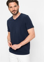 T-shirt med stretch, Slim Fit, bpc selection