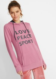 Lett sweatshirt med hette og print, bpc bonprix collection