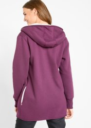Sweatjakke med fleece, bpc bonprix collection