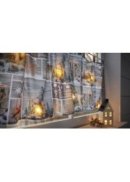 LED-kafegardin med julemotiv, bpc living bonprix collection