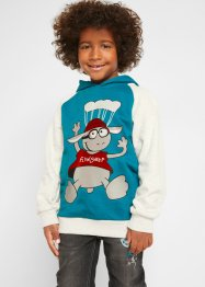 Sweatshirt med hette, gutt, bpc bonprix collection