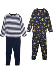 Pyjamas til gutt (2-pack), bpc bonprix collection