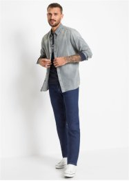 Loose Fit Stretch-Jeans, Straight, John Baner JEANSWEAR