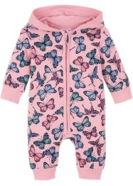 Sweat baby-jumpsuit med hette, økologisk bomul, bpc bonprix collection