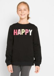 Sweatshirt av økologisk bomull, hente, bpc bonprix collection