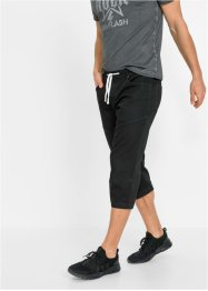 3/4-lang sweat-jeans bermuda, Regular Fit, RAINBOW