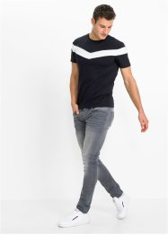 Stretchy T-shirt, Slim Fit, RAINBOW