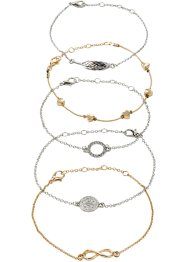 Armbånd 5-pack, bpc bonprix collection