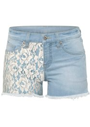 Jeans-shorts med blonde, RAINBOW