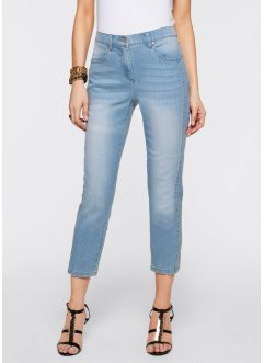 Jeans med stretch, 7/8-lang, bpc selection