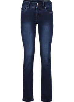 Power-stretch-jeans, figurformende, smal passform, John Baner JEANSWEAR