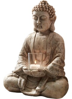 Buddha-figur med lys, bpc living bonprix collection