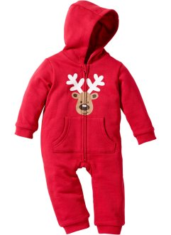 Baby-sweatoverall, Jul, økologisk bomull, bpc bonprix collection