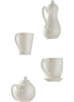 "Veggdekor ""Coffee"" (4 deler, sett), bpc living bonprix collection"