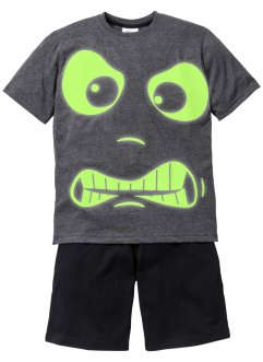 "Shorty-pyjamas (2 deler) ""GLOW IN THE DARK"", bpc bonprix collection"