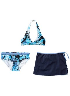 Bikini + skjørt jente (3 deler, sett), bpc bonprix collection