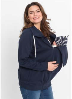 Mamma-sweatjakke med baby-lomme, bpc bonprix collection