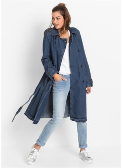 Trenchcoat i denim, RAINBOW