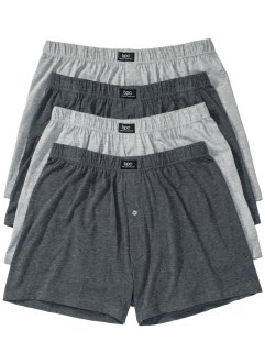 Boxershorts, ledig passform (4-pakning), bpc bonprix collection