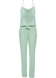 Jumpsuit med blonde, BODYFLIRT