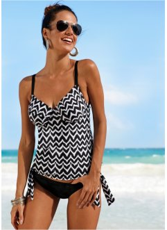 Tankini overdel med bøyle, bpc bonprix collection