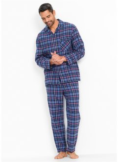 Flanell pyjamas i ledig passform, bpc bonprix collection