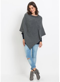 Poncho med innfelling, bpc bonprix collection