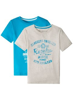 T-shirt (2-pack), gutt, bpc bonprix collection