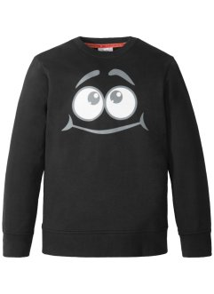 Sweatshirt med kult trykk, bpc bonprix collection