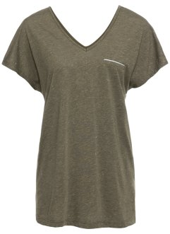 T-shirt med lurex, BODYFLIRT