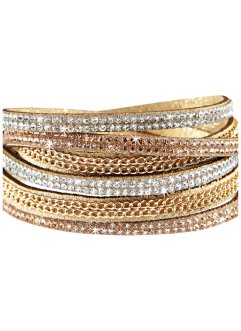 Armbånd kjede + strass, bpc bonprix collection