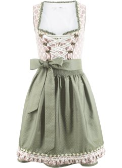 Dirndl med forkle, bpc bonprix collection