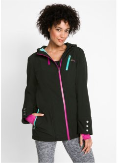 Softshell jakke med stretch, bpc bonprix collection