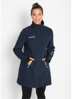 Lang softshell-jakke med stretch, 2-i-1 optikk, bpc bonprix collection