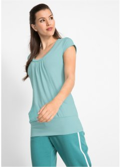 Wellness-top med stretch, kort arm, bpc bonprix collection